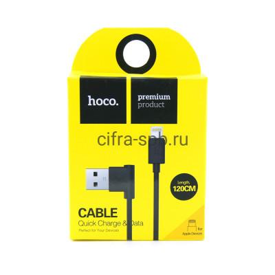 Кабель Lightning UPL11 черный Hoco 1.2m купить оптом | cifra-spb.ru
