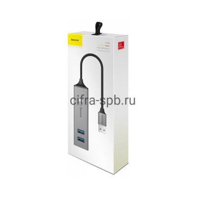 Type-C Хаб на 5USB CAHUB-D0G серый Baseus купить оптом | cifra-spb.ru