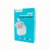 Беспроводные наушники TWS-W11 с микрофоном белый Celebrat купить оптом | cifra-spb.ru
