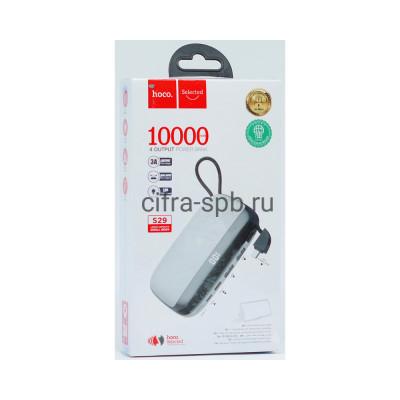 Power Bank 10000mAh S29 + кабель Micro белый Hoco купить оптом | cifra-spb.ru