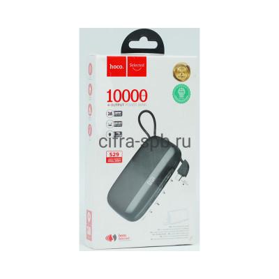 Power Bank 10000mAh S29 + кабель Type-C черный Hoco купить оптом | cifra-spb.ru