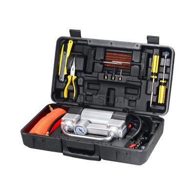 Автомобильный набор с компрессор 2077 черный купить оптом   cifra-spb.ru