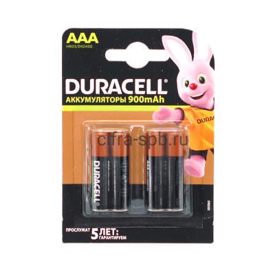 Батарейки аккумуляторные HR03 850mAh/900mAh Duracell 4шт (цена за ед.) купить оптом | cifra-spb.ru