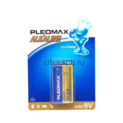 Батарейка крона 6LR61 Pleomax 1шт. купить оптом | cifra-spb.ru