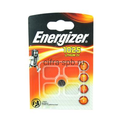 Батарейка CR1025 3V Lithium Energizer 1шт купить оптом | cifra-spb.ru