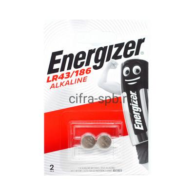 Батарейки LR43/186/AG12 Energizer 2шт. (цена за ед.) купить оптом   cifra-spb.ru