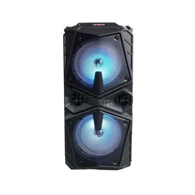 Беспроводная колонка ZQS-6206W + проводной микрофон черный купить оптом | cifra-spb.ru