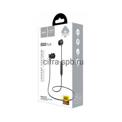 Беспроводные наушники ES13 Plus с микрофоном черный Hoco купить оптом | cifra-spb.ru