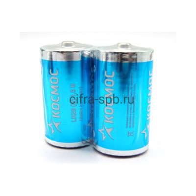 Батарейка LR20  2S 1.5V Космос 2шт б/б (цена за ед.) купить оптом | cifra-spb.ru