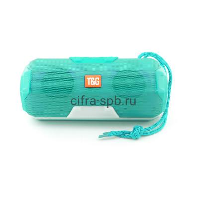 Беспроводная колонка TG-143 бирюзовый T&G купить оптом   cifra-spb.ru