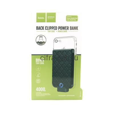 Power Bank 4000mAh BW4-4000 накладка черный Hoco купить оптом   cifra-spb.ru