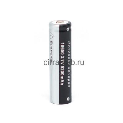 Аккумулятор 18650 5200 mAh 3.7V Поиск купить оптом | cifra-spb.ru