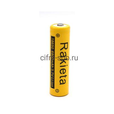 Аккумулятор 18650 6800mAh 3.7V Li-ion Rakieta купить оптом | cifra-spb.ru
