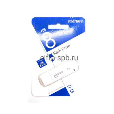 USB накопитель 3.0 8GB LM05 белый Smartbuy купить оптом   cifra-spb.ru