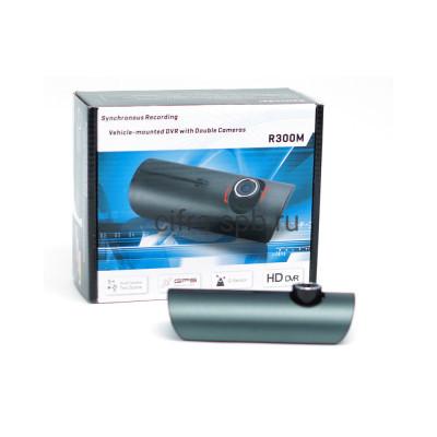 Автомобильный видеорегистратор DVR-R300M + Gps навигатор купить оптом | cifra-spb.ru