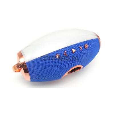 Беспроводная колонка F2 синий с подсветкой купить оптом | cifra-spb.ru
