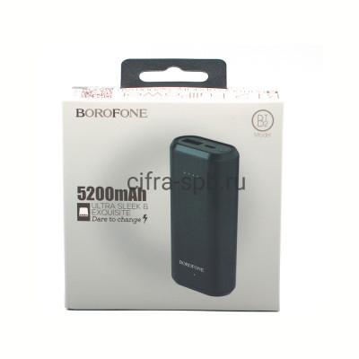 Power Bank 5200mAh BT2 USB черный Borofone купить оптом | cifra-spb.ru
