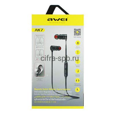 Беспроводные наушники AK7 с микрофоном Awei купить оптом | cifra-spb.ru