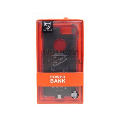 Power Bank 5000mAh Чехол iPhone 7+/8+ красный купить оптом | cifra-spb.ru