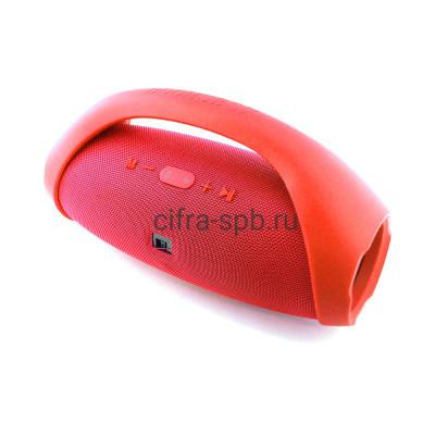 Беспроводная колонка BOOMS BOX 777 (37см) красный купить оптом | cifra-spb.ru