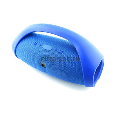 Беспроводная колонка BOOMS BOX 777 (37см) синий купить оптом   cifra-spb.ru