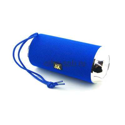 Беспроводная колонка AK115 + фонарик синий купить оптом | cifra-spb.ru