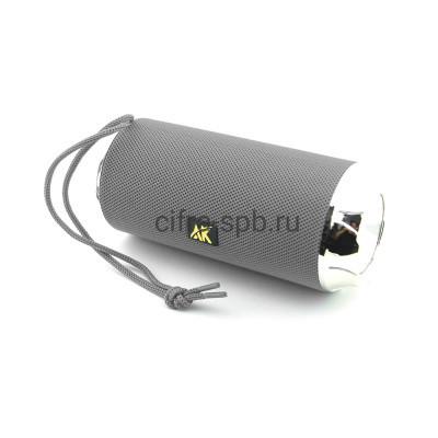 Беспроводная колонка AK115 + фонарик серый купить оптом | cifra-spb.ru