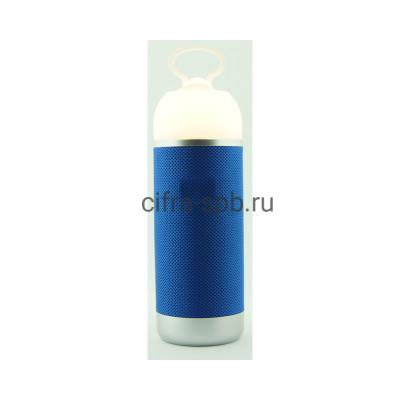 Беспроводная колонка  AE01 + фонарь JB синий купить оптом | cifra-spb.ru