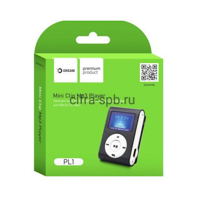 MP3 плеер DRM-PL1-01 с дисплеем черный Dream купить оптом | cifra-spb.ru