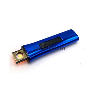 Зажигалка USB Z-8150 синий купить оптом | cifra-spb.ru