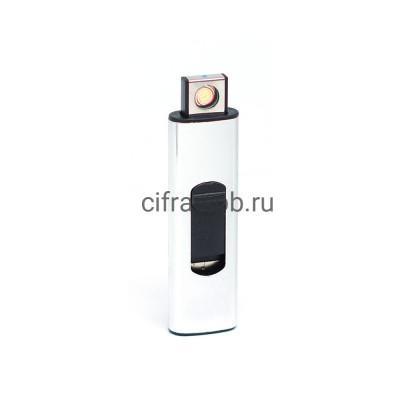 Зажигалка USB 218 серый купить оптом   cifra-spb.ru