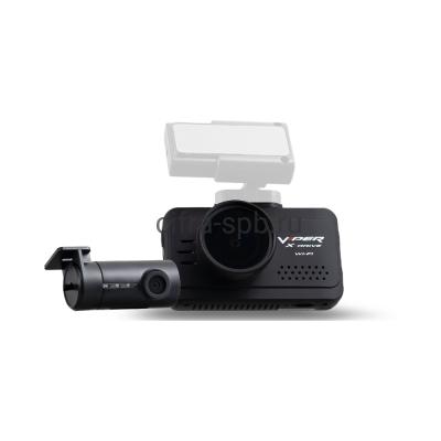Автомобильный видеорегистратор X-Drive Duo Wi-Fi + внутренняя камера + магнитное крепление Viper купить оптом   cifra-spb.ru