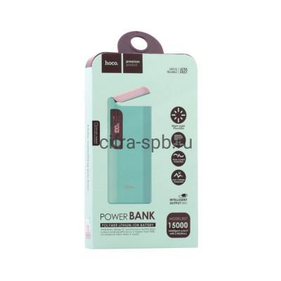 Power Bank 15000mAh B27 бирюзовый Hoco купить оптом | cifra-spb.ru