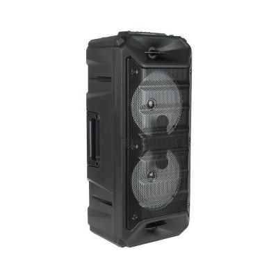 Беспроводная колонка ZQS-6205W + проводной микрофон черный купить оптом   cifra-spb.ru