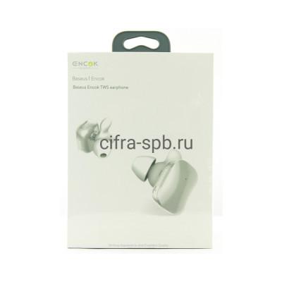 Беспроводные наушники NGW02-02 Encok с микрофоном белый Baseus купить оптом | cifra-spb.ru