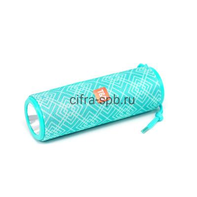 Беспроводная колонка TG-604 + фонарь бирюзовый с принтом T&G купить оптом | cifra-spb.ru