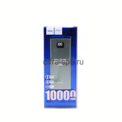 Power Bank 10000mAh J46 2USB серый Hoco купить оптом | cifra-spb.ru