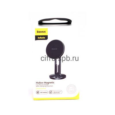 Держатель для телефона SULK-01 магнитный черный Baseus купить оптом | cifra-spb.ru