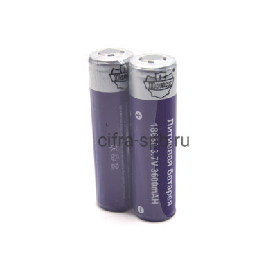 Аккумулятор YB-8 18650 3.7V 3600 mAh Поиск 2шт. (цена за уп.) купить оптом | cifra-spb.ru