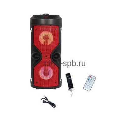 Беспроводная колонка ZQS-4209 + пульт черно-красный купить оптом | cifra-spb.ru