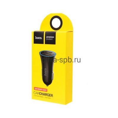 АЗУ 2USB UC204 2.4A черный Hoco купить оптом | cifra-spb.ru
