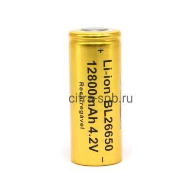 Аккумуляторная батарейка 26650 R20 12800mAh 4.2V купить оптом | cifra-spb.ru