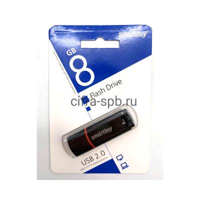 USB накопитель 8GB Crown черный Smartbuy купить оптом | cifra-spb.ru
