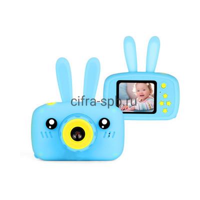 Детский фотоаппарат + чехол с ушками голубой купить оптом | cifra-spb.ru