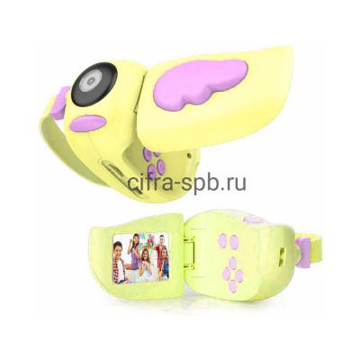 Детский фотоаппарат A100 желтый купить оптом | cifra-spb.ru