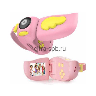 Детский фотоаппарат A100 розовый купить оптом | cifra-spb.ru