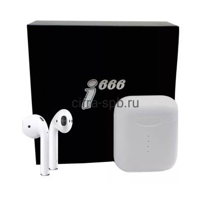 Беспроводные наушники i666 сенсорные c микрофоном белый купить оптом | cifra-spb.ru