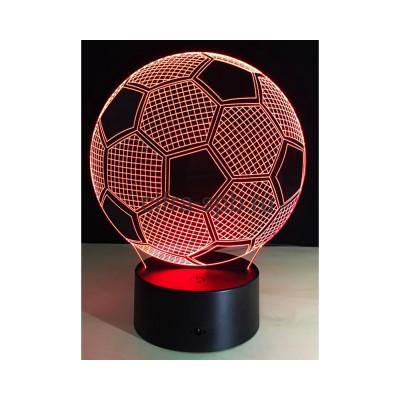 3D Лампа Micro USB Футбольный мяч купить оптом | cifra-spb.ru