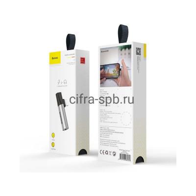 Аудио конвертор L43 Lightning на Lightning + 3.5 Jack CALL43-S1 серебро Baseus купить оптом | cifra-spb.ru