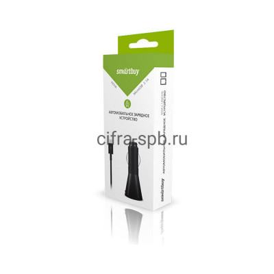 АЗУ Micro USB 2.1A SMARTBUY купить оптом | cifra-spb.ru